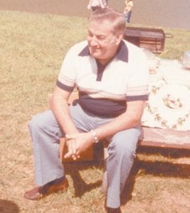 The late Eddie Howard is pictured at one of the Howard reunions.