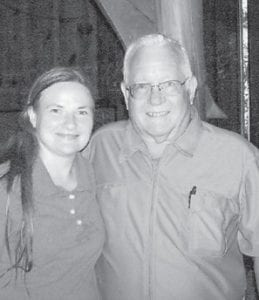 Elzie Ray Hatton and Lisa Brown are pictured at the 2013 Hatton family reunion.