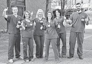 Registered nursing students give thumbs up to Southeast Kentucky Community and Technical College for reinstating the licensed practical nursing program.