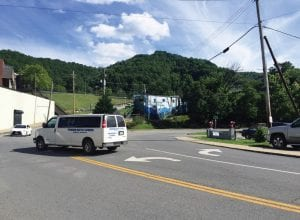 The Whitesburg City Council voted Tuesday night to accept the state's plan to redesign this three-way intersection at Main Street and the foot of School Hill. The intersection also connects with the exit/entrance ramp to the Whitesburg bypass.