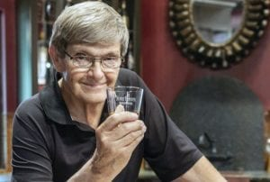 Al Young, 74, is the master distiller at Four Roses.