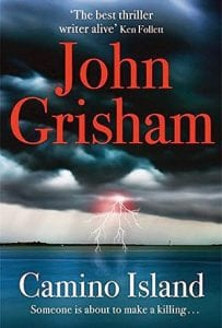 """The cover of John Grisham's """"Camino Island"""" is shown."""