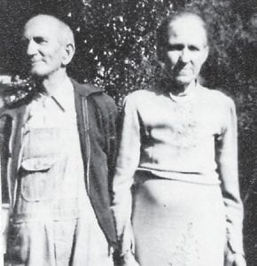 "Grandparents of Whitesburg correspondent Oma Hatton were Arch Howard, born March 20, 1875 and died August 28, 1949, and Ida Creech Howard, born February 28, 1879 and died in 1952. They moved to from Breathitt County to Blackey and both passed away in Blackey. Mrs. Hatton says, ""I spent a lot of my life with them. My paw was 74 years old and my maw was 73 years old at their passing."""
