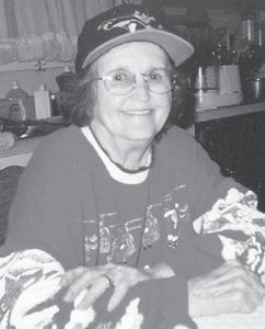 — Thelma Watts, of Kingsport, Tenn., celebrated her 91st birthday this month. Reared in Letcher County, she is the widow of Riley Watts and the mother of five children. She is also a very special aunt of the Dixon children.