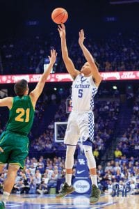 ESPN college basketball analysts agree that Kevin Knox Jr. has to be a star for UK to have a special season. (Jeff Houchin photo)