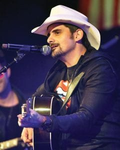 Brad Paisley, seen here performing in Chicago earlier this month, headlines a concert in Pikeville on February 23. (AP)