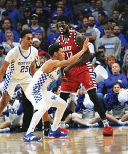 Quade Green has shown he can make shots, now radio analyst Mike Pratt says he has to learn how to use the right angles on defense like he tried to do against Illinois-Chicago Sunday. (Jeff Houchin Photo)