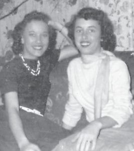 From left to right are Mildred Necessary Spence and Opal Necessary Haynes.