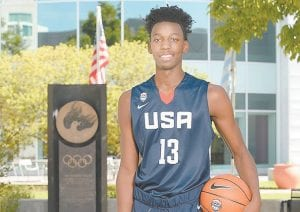 """THE BEST OF 2019 — James Wiseman, the top player in the 2019 recruiting class, plays with a """"chip on his shoulder"""" that Kentucky coach John Calipari likes."""