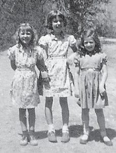 Pictured are Toni Stidham, Ruth Brown and Jo Anne Howard Brown.