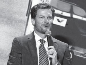Dale Earnhardt Jr. barely had time to ease into retirement before NBC Sports gave him a full workload. Earnhardt will be part of the network's pregame show before the Super Bowl, then head to South Korea for NBC Sports' coverage of next month's Olympics. (AP Photo)
