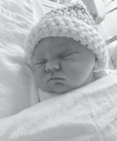 Kymber Shayne Shuffler was born Jan. 14.