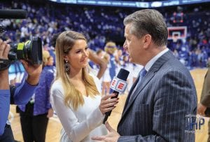 "Laura Rutledge believes John Calipari's team is ""overloaded"" with talent that can still develop into an elite team. (Jeff Houchin Photo)"
