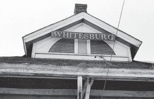 The photos above and below were taken in the late 1960s and show the old L&N Railroad Depot that once dominated the east end of Whitesburg's Main Street. The photos were taken by Mountain Eagle contributing editor Phil Primack when he was a young reporter and photographer for the paper. The former location of Frazier's Farmers Supply Company can be seen in the background of the photo at bottom.
