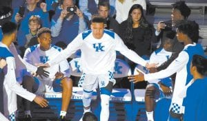 Patrick Patterson thinks every UK player, including Kevin Knox, should return to college next season rather than opt for the NBA. (Vicky Graff Photo)