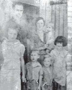 This may be the Scrub Holland family, but we aren't sure. Any information would be appreciated.