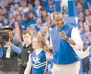 Jack Givens will be back in Rupp Arena Saturday for the 40th reunion of the 1978 championship team. He scored 41 points in the title game win over Duke. (Photo by Vicky Graff )