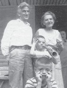 Bill Howard is shown with his sister Della Palumbo, Robbie Hatton and Hillard Howard.