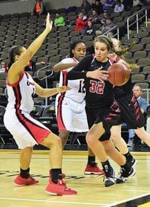 """Harlan County's Blair Green says it """"means more"""" for a Kentucky girl to play basketball at the University of Kentucky. She was 13th Region Player of the Year and a Miss Basketball candidate."""