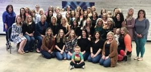 """Pictured are some of the 80 people who completed the """"New Year New You"""" fitness challenge at the Letcher County Recreation Center attended a ceremony marking the end of the 12-week challenge."""