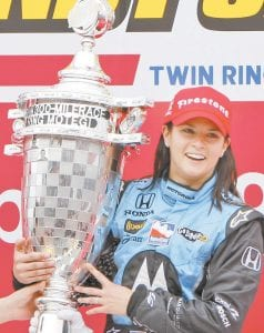 Patrick makes history On April 20, 2008 — 10 years ago this coming Friday — Danica Patrick, then 26, became the first female winner in IndyCar racing history when she captured the Indy Japan 300 at Twin Ring Montegi in Montegi, Japan. According to History.com, Patrick was born on March 25, 1982, in Beloit, Wisconsin. She became involved in racing as a young girl and as a teenager moved to England in pursuit of better training opportunities. On May 29, 2005, Patrick made her Indy 500 debut, becoming just the fourth female driver ever to compete in the celebrated 500-mile race, which was first held in 1911 and today is considered one of auto racing's premier events, History.com adds. Patrick later moved to the NASCAR Cup series, where she finished her career earlier this year after the Daytona 500, leaving her as the top female driver in the history of the NASCAR circuit. (AP Photo)