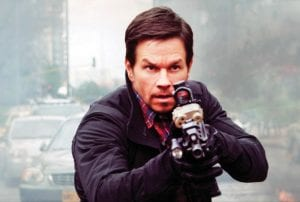 """Actor Mark Wahlberg in a scene from """"Mile 22,"""" in theaters on August 3. (STXfilms via AP)"""