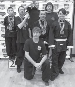 John Ng's Four Seasons Martial Arts competed May 5 at the Derby State Championship Tournament in Louisville. The group participated in 15 events and won 15 medals.