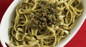 Pasta with Spinach Pesto