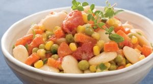 Southern Style Succotash with Sweet Corn Sauce