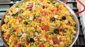 Easy Weeknight Seafood Paella