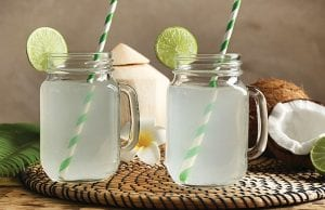 Citrus Coconut-Water Refresher
