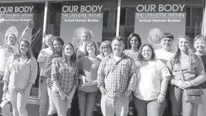 Southeast Kentucky Community and Technical College students traveled to Johnson City to tour East Tennessee State University and attend the Our Body exhibit at the Hands On Museum. The exhibit displayed the anatomy inside the human body.