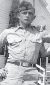 Johnny Cash served in the military with Eagle columnist Everett Vanover.