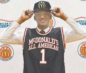 ESPN recruiting director Paul Biancardi likes the decision-making ability of freshman point guard Immanuel Quickley. (McDonald's All-American Photo)