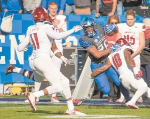 Kentucky junior running back Benny Snell has been ranked among the top 100 players in college football by Sports Illustrated. (Vicky Graff Photo)