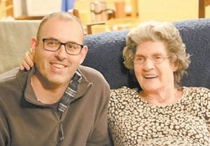 Dorothy Pennington Tacket is pictured with her grandson Philip Marshal Graves.