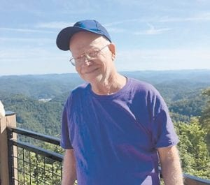 Estel Taylor is pictured on Pine Mountain while on a Senior Citizen trip to Little Shepherd Trail.