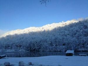 Jared Tackett took this photo of Elkhorn Lake, Jenkins.